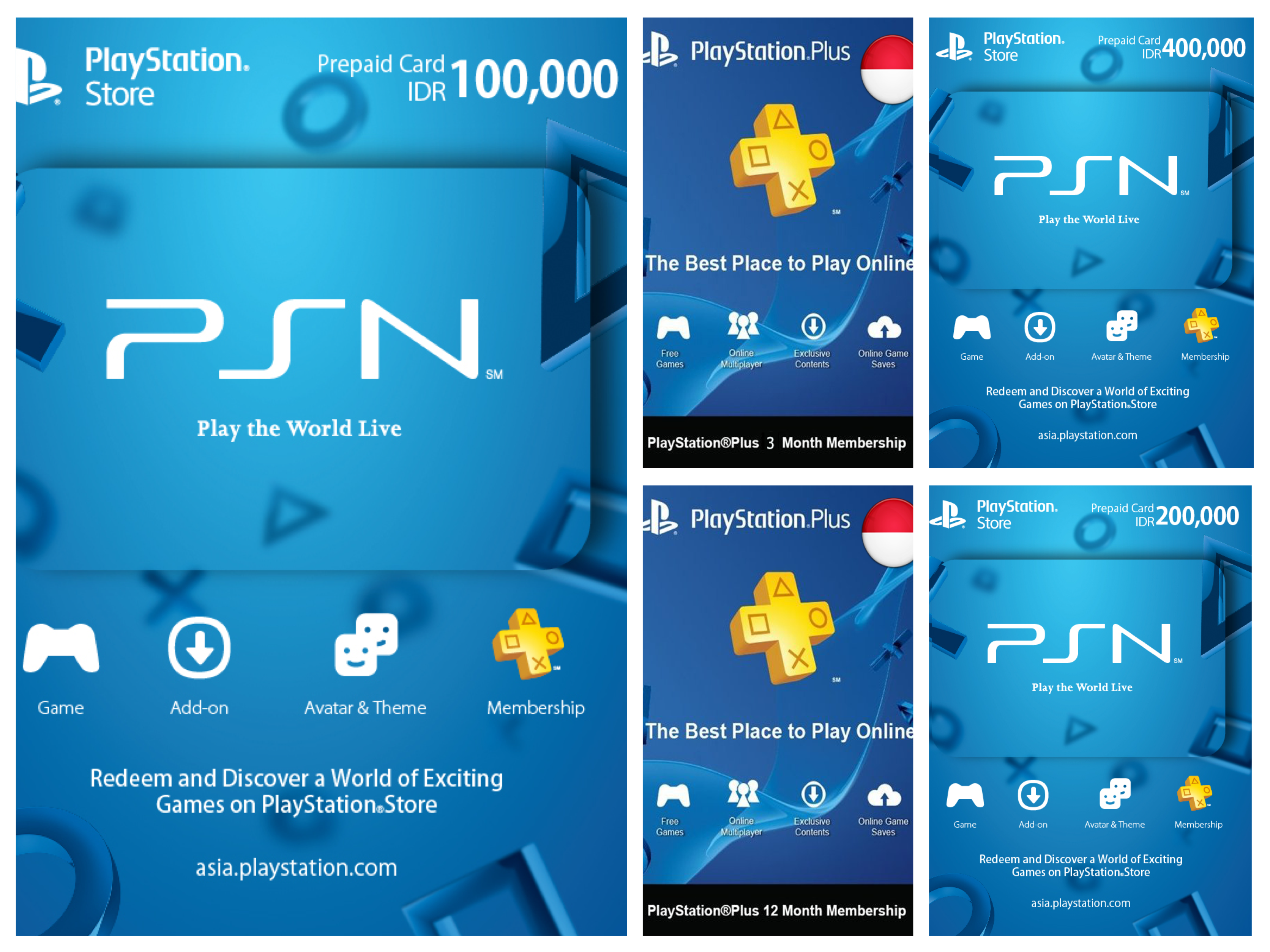 Playstation Store Gift Card Psn Cards Codes Ibanezblack Itunes Indonesia 1000000 Jual Beli Cash Asia Plus